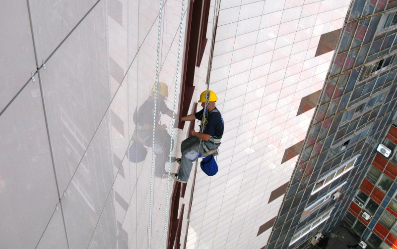 Услуги промышленных альпинистов в санкт петербурге