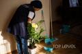 Очистка комнатных растений